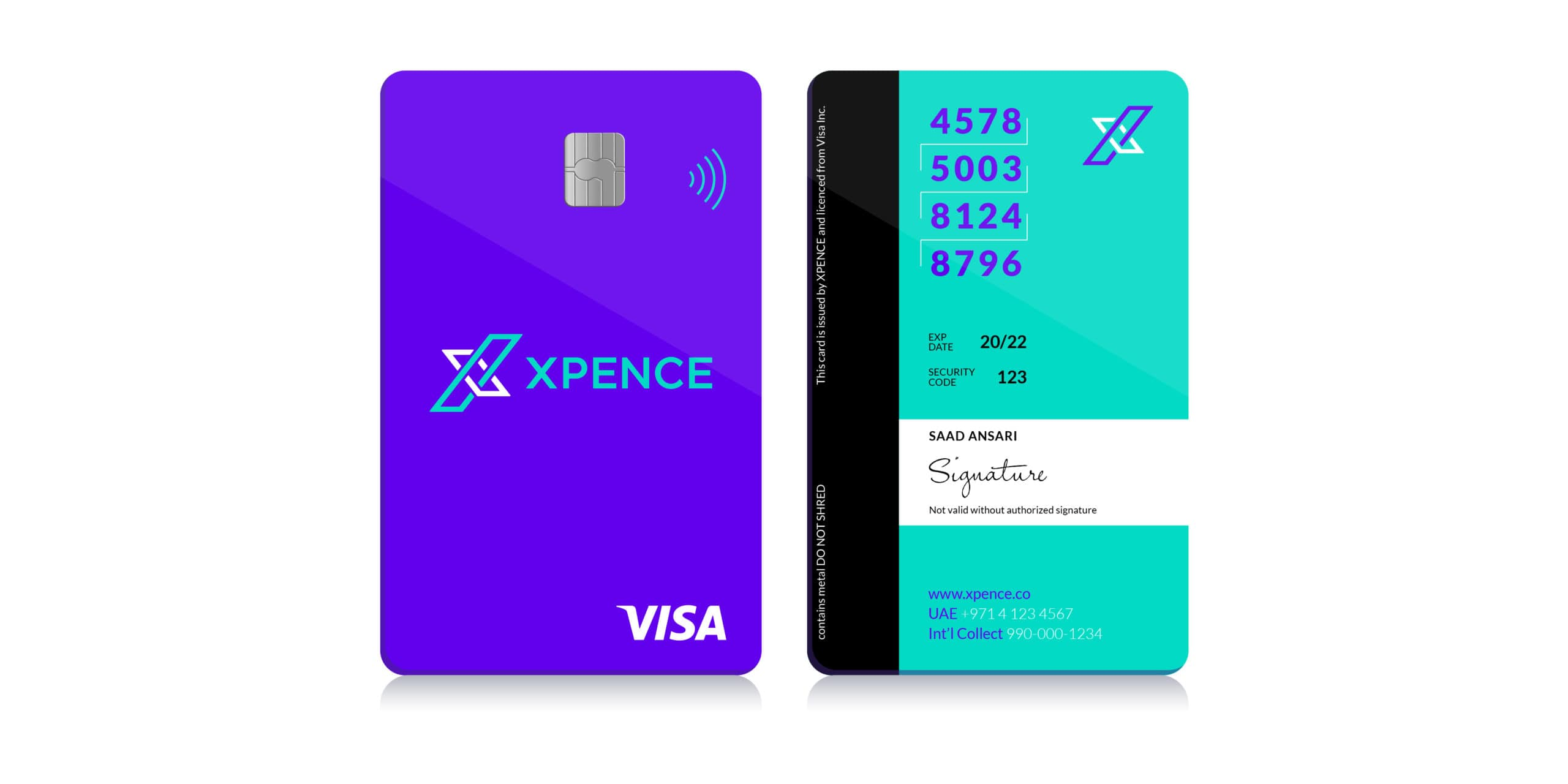Xpence_Card_Design